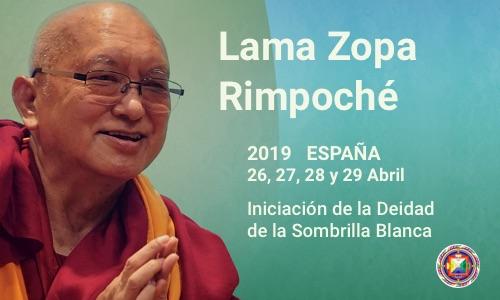 Lama Zopa Rimpoche España 2019 Nagarjunacg
